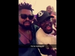 Video: Basketmouth, Daddy Showkey Stormed Pasuma